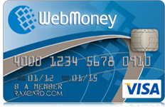 Webmoney Casinos Card