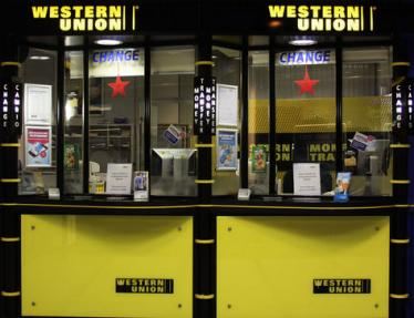 Western Union Stand