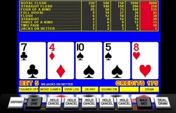 how to win video poker