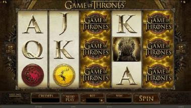 Games of thrones microgaming