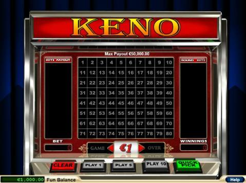 Online Keno Spielen