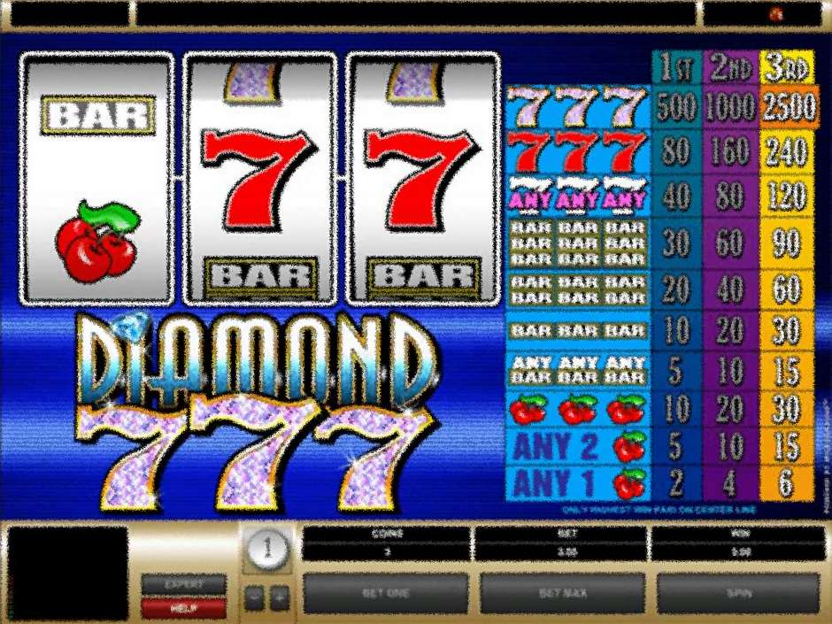 Diamond 7s Microgaming