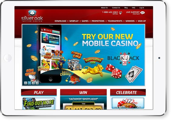 Silver Oaks Casino Review