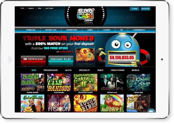 review page image Sloto Cash Casino