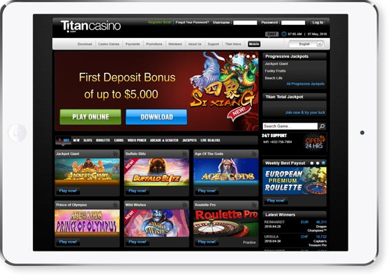 review page image Titan Casino2
