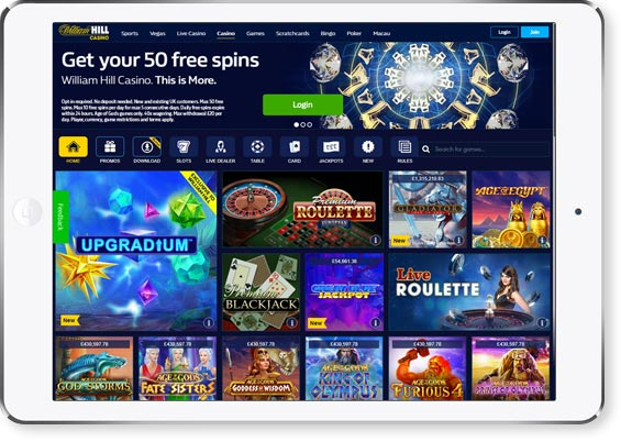 review page image William Hill Casino